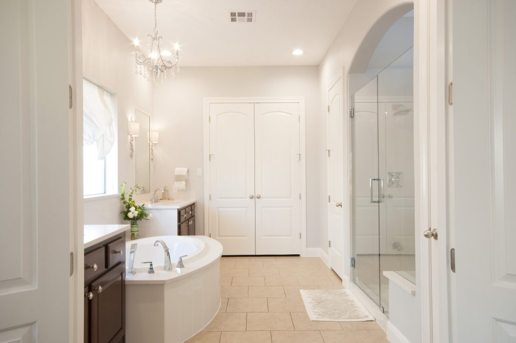 portfolio: beautiful master bathroom. You are here: Home / portfolio: beautiful master bathroom