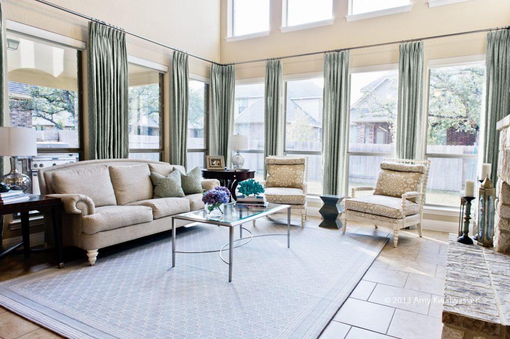 portfolio: Transitional living & dining room - Noa Noa Design Solutions